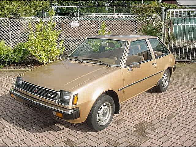 1980 Mitsubishi Colt