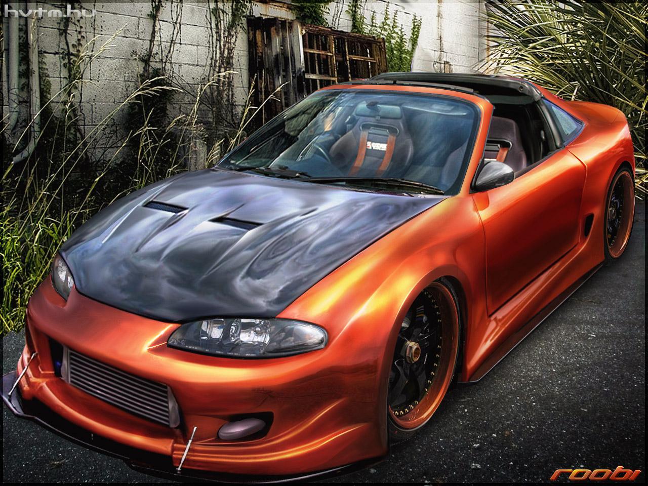 Mitsubishi Eclipse Souped Up >> Mitsubishi Eclipse (mitsubishi eclipse by roobi)